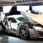 Lebanese super car Lykan Hypersport shines at Dubai motor show