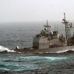 AT SEA-USS CHANCELLORSVILLE