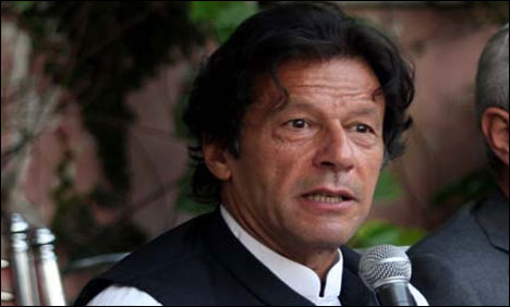 The seventh celebrity was the Chairman Pakistan Tehreek-e-Insaf Imran Khan.