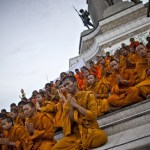 Thailand launches hotline for public to report monks' bad behaviour