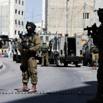 Israeli soldiers in West Bank