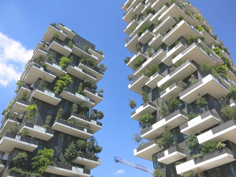 Bosco verticale zoom sur les tours v g tales de milan for Mini palazzi