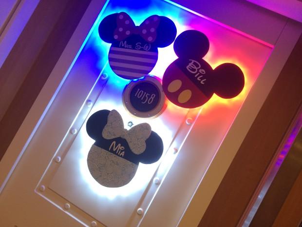Disney Door Decorations & Unique Disney Cruise Line Door