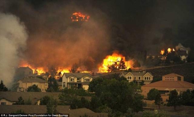 Incêndio no Colorado, Estados Unidos
