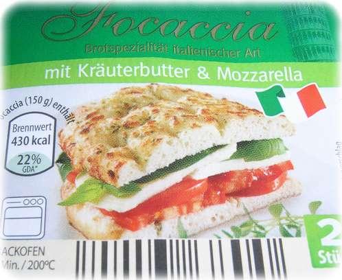 Focaccia bei Aldi-Süd - Mogelpackung oder kulinarische Blödheit?
