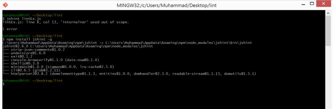 npm_install_jshint