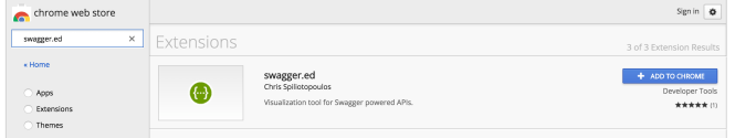 swagger.ed chrome extension