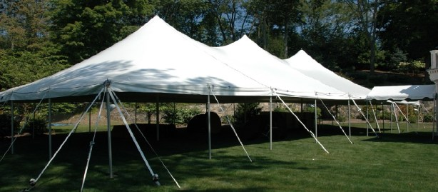 canopy tent for an event