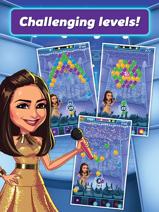 Sarah G Popsters Game 2015