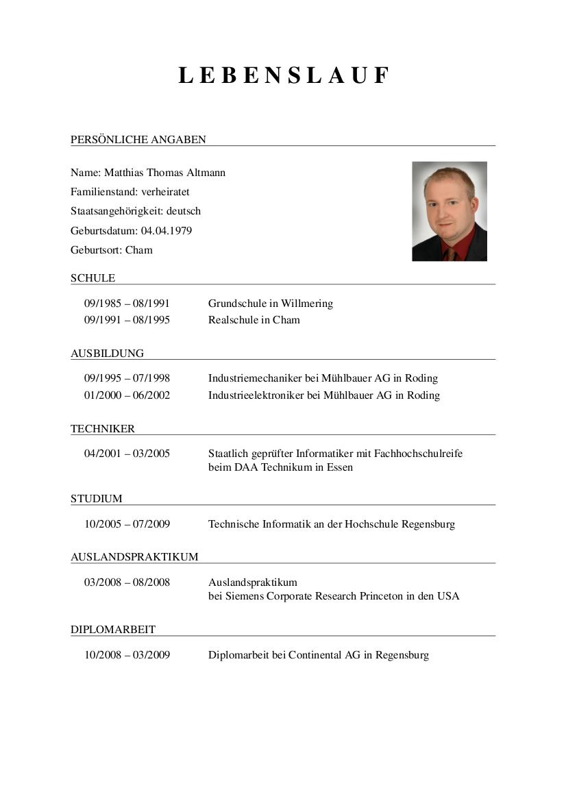 Erfreut Cv Lebenslauf In Den Usa Zeitgenössisch - Entry Level Resume ...