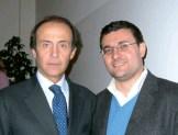 Europaminister Andrea Ronchi und Neofaschist Roberto Jonghi Lavarini