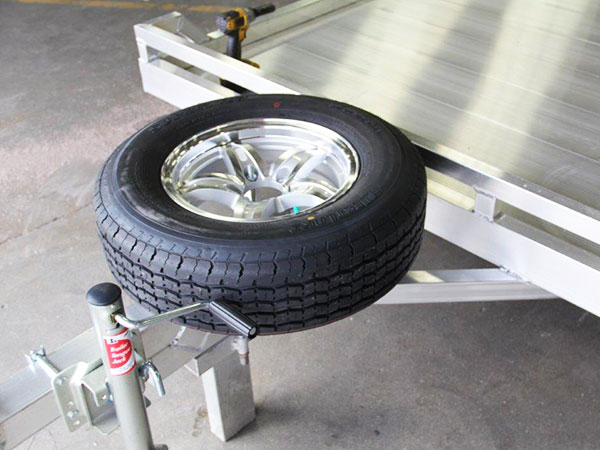 Spare Wheels Tires Tire Mounts Aluma Trailers