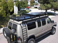 Ford Van Roof Racks | Aluminess
