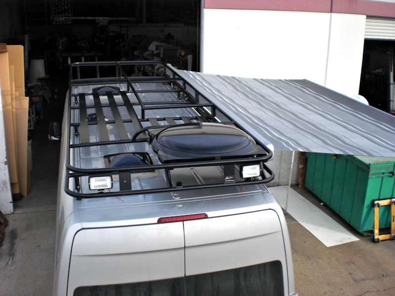 Installing Roof Rails On A Sprinter Vaninstalling Roof