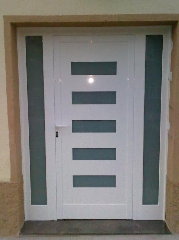 1000 images about puertas on pinterest - Puertas de entrada de aluminio ...