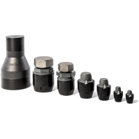 End Caps for Aluminum Piping Systems | Aluminum Pipe End Caps