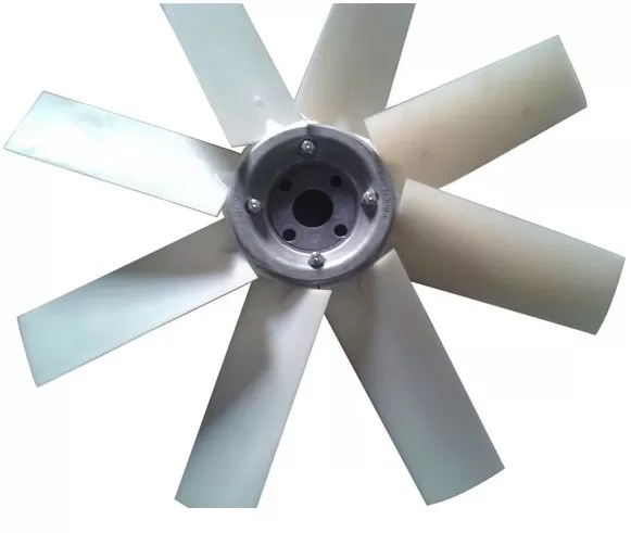 Aluminum Replacement Industrial Exhaust Fan Blades / Air