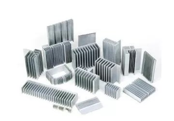 Silvery Anodized Industrial Aluminum Extrusion Profiles