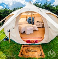 Go Camping In Style with These Lotus Belle Tents -EALUXE
