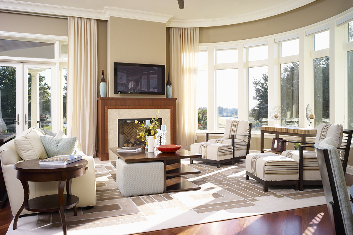 Audrey family room