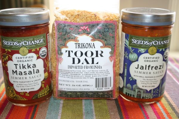 Indian  inspired simmer sauces
