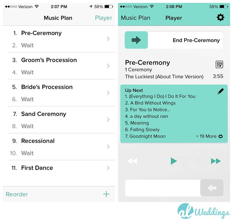 How to Make the Best Wedding Playlist with Song list