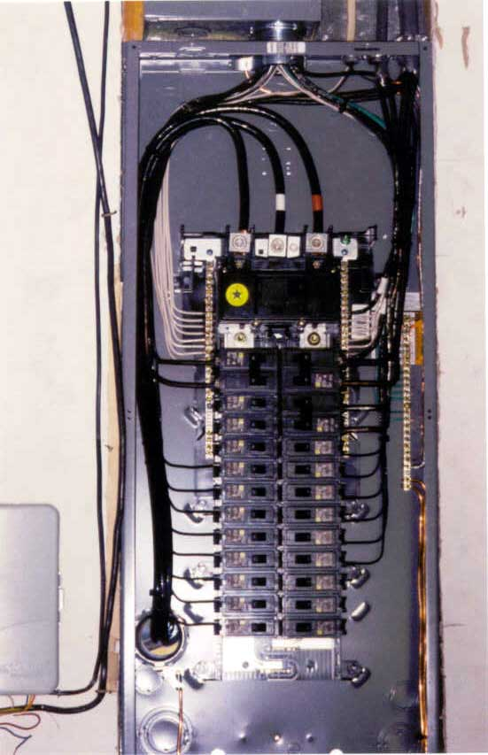 service panel diagram circuit breaker panel wiring 200 service panel