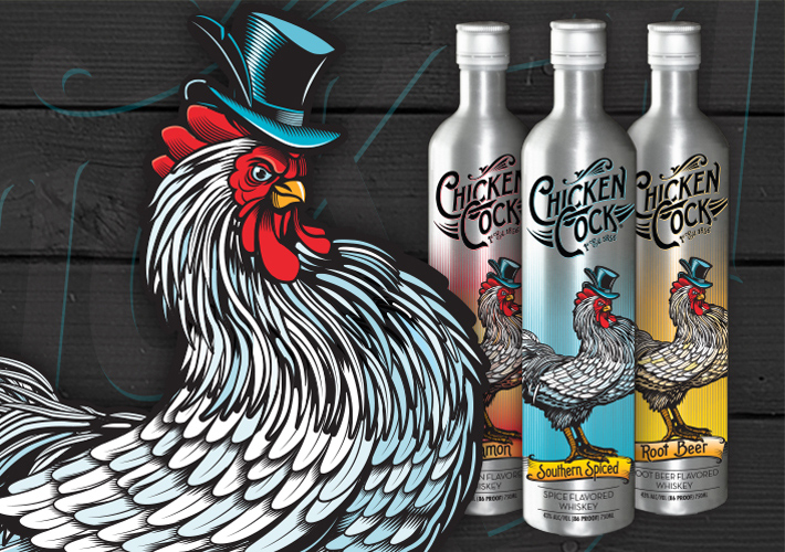 Chicken Cock Whiskey