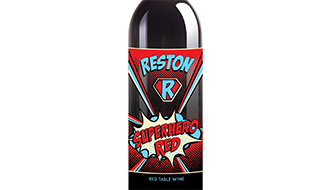 Reston Superhero Red