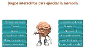 Juegos online interactivos para ejercitar la memoria