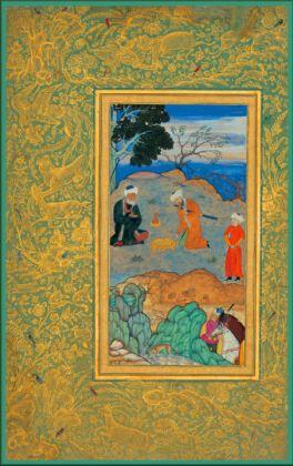 Behzad Ascetic Persian Sufis 16c