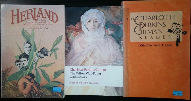 My Charlotte Perkins Gilman haul. Thanks, Mr. K's!