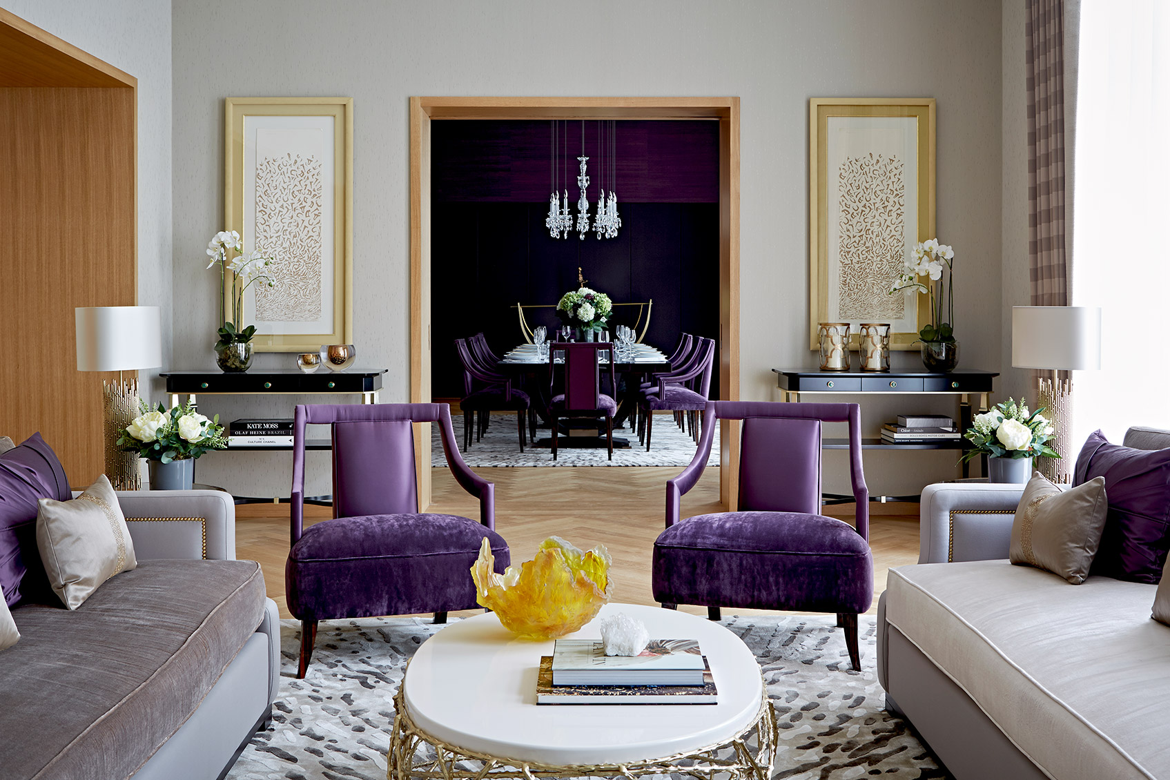 Impeccable Sophie Howard Living Room Design Ideas Living Room Decor Ideas Luxpad Interior Living Room Decorating Interior Living Room Decorating 2018 interior Modern Interior Living Room