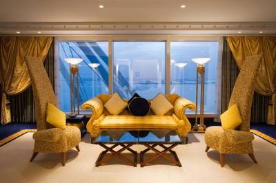 Burj Al Arab, Inside the World's Most Luxurious Hotel Interior Design