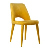 Buy Pols Potten Velvet Holy Chair - Yellow | Amara