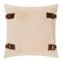 Buy UGG Luxe Lodge Pillow - 50x50cm - Natural | Amara