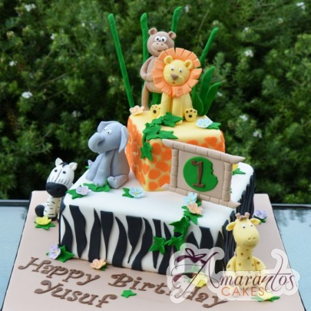 Two tier Jungle theme- NC438