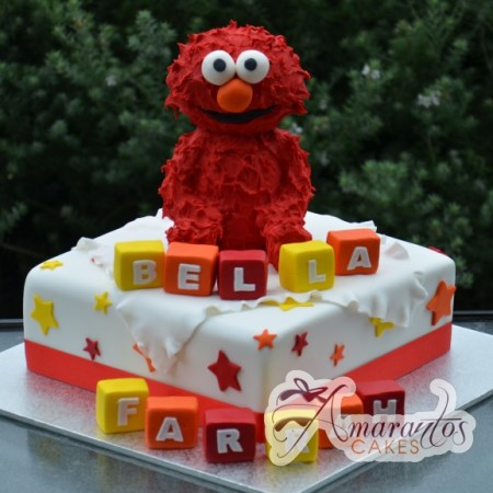 Base with Elmo- NC476