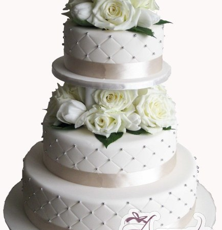 Three Tier Cake - Amarantos Custom Made Cakes Melbourne