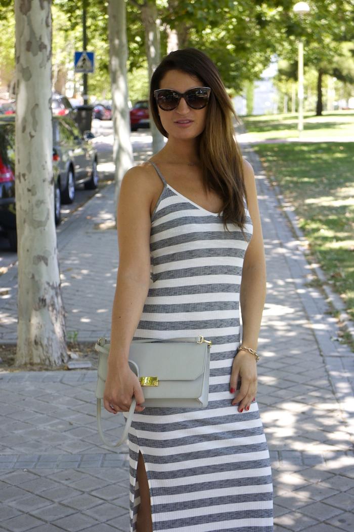 bershka dress ecco shoes bag amaras la moda paula fraile5