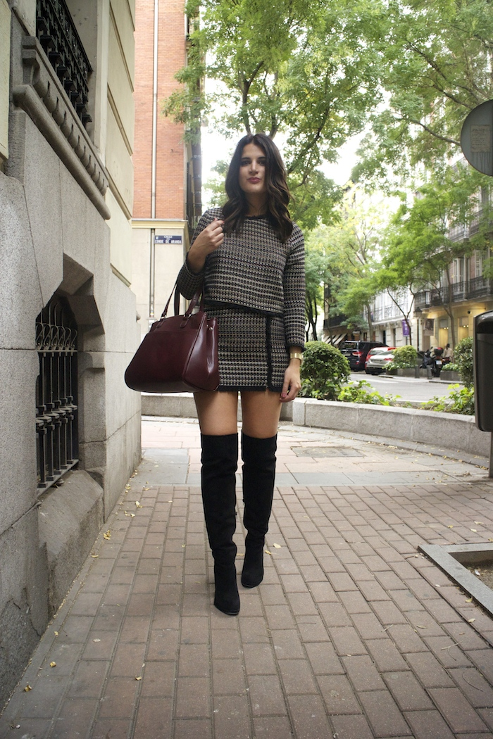 zara-top-and-skirt-over-the-knee-boots-justfab-la-redoute-bag-and-trench-amaras-la-moda-paula-fraile6
