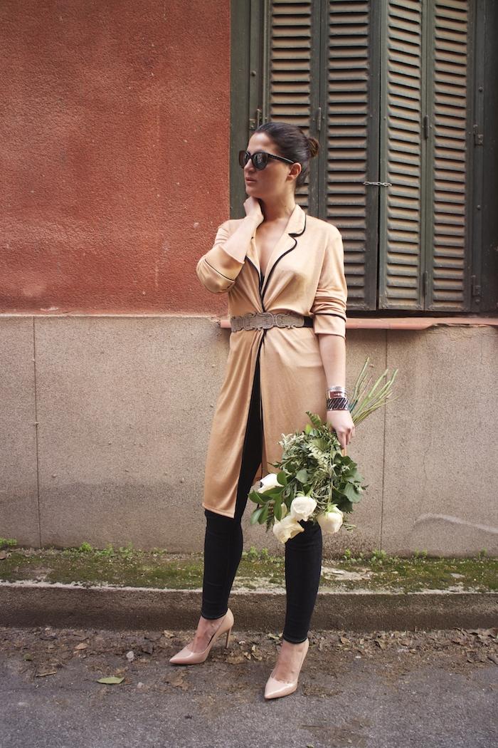 embajadora The Rubz pulseras bata Zara Paula Fraile amaras la moda flores9