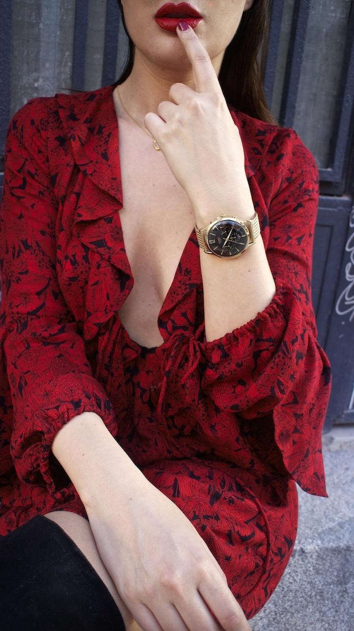vestido Zara reloj henry london amaras la moda gafas monglam amaras la moda paula fraile11
