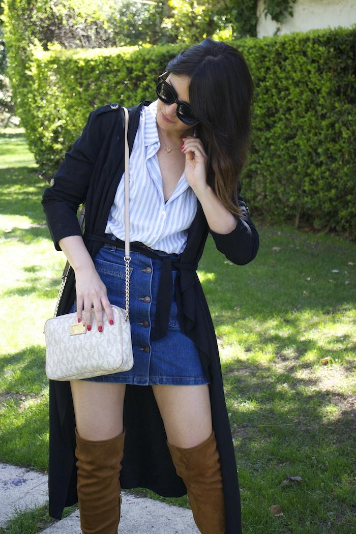 paula fraile la gavia modelo street style zara shirt overthe knee boots amaras la moda4