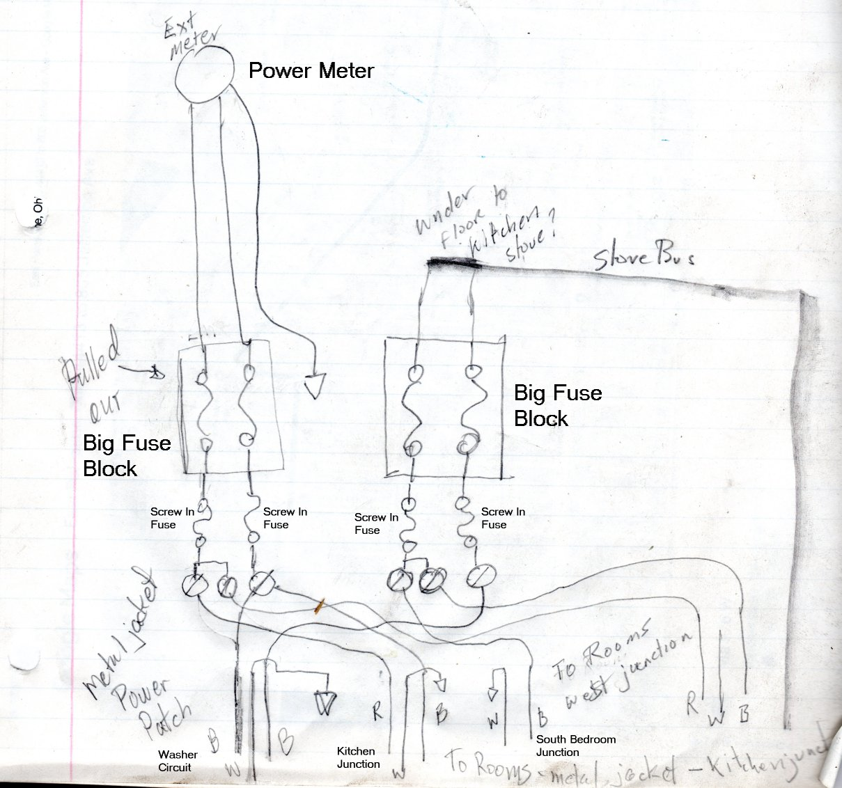old 60 house fuse box diagram