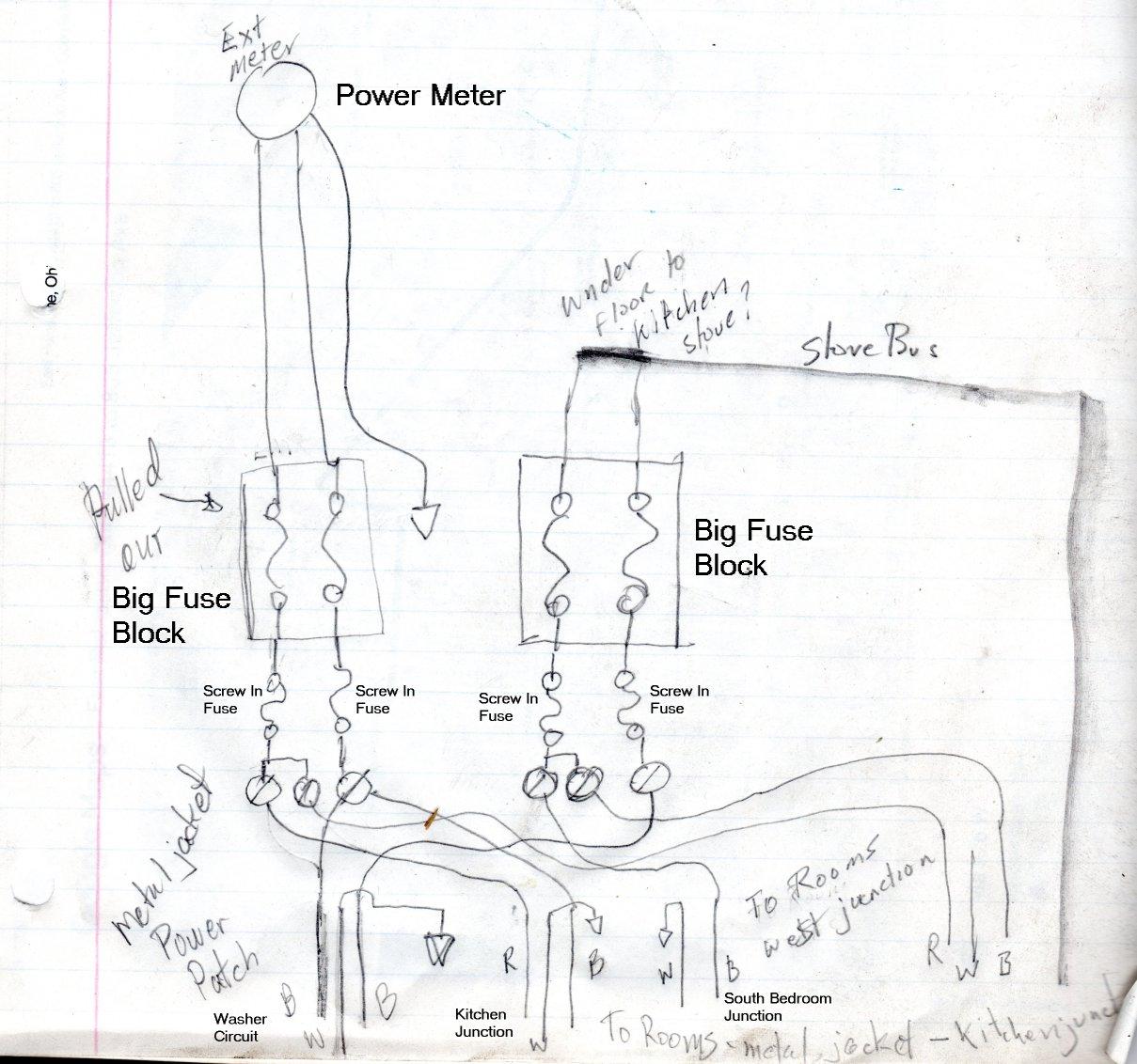 old 60 amp fuse box