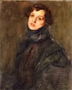Ritratto di Loredana von Prissegher. Collezione privata Michele Fasano.