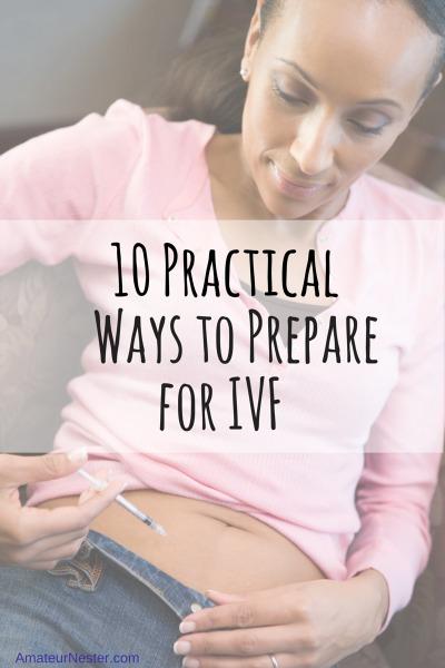 prepare for IVF
