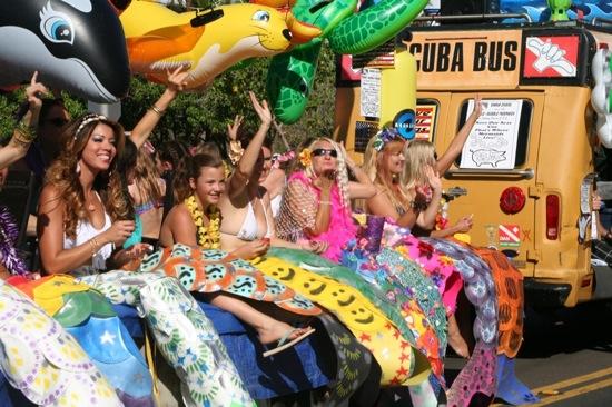 Whale Day Parade Maui Mermaids - 1