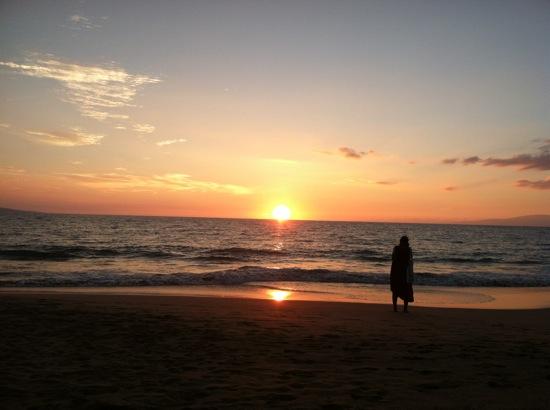 Maui Sunset Keawakapu Beach